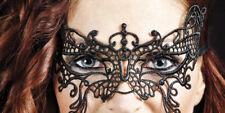 schwarze Schmetterling Augenmaske Spitzen Gothic Venezianisch Maske