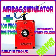 AIRBAG diagnostic KIT + 100 free resistors Recaro seat light bypass reset mot