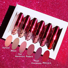 Mini 6pcs Kit valentine's Liquid Lipstick Matte Kit Gloss collection Sexy New