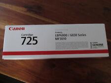 Toner Canon 725 Canon725 schwarz black NEU OVP 3484B002