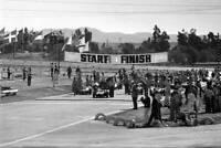 OLD LARGE PHOTO of Motor Racing Legend Dan Gurney, Formula 1, Le Mans etc No 132