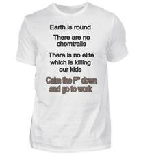 Anti - Verschwörung - Anti Chemtrails - Herren V-Neck Shirt