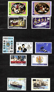 Anguilla .... Super stamp collection .. Mint (MNH) .. 4961