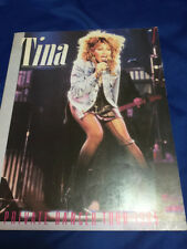 Tina Turner Private Dancer Tour Japan 1985 Book Tokyo