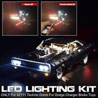 ONLY LED Light Lighting Kit For LEGO 42111 Technic Doms For Dodge Charger