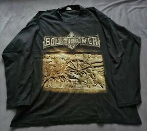 Bolt Thrower Tour LS RAR Vintage Carcass Entombed Morgoth Asphyx Grave Unleashed