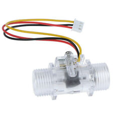Clear Water Flow Sensor Switch G12 Hall Effect Meter Control Dc 5 15rc Tool