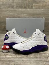 Nike Air Jordan 13 XIII Retro Lakers Court Purple Yellow BlacK Sz 9.5 414571-105