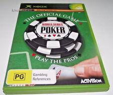 World Series of Poker Xbox Original PAL *Complete*