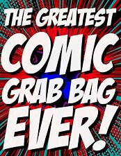The Greatest Comic Book Grab Bag Ever! 🔥 Marvel, Dc, Cgc, Autographs & More!