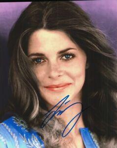 Lindsay Wagner Autographed Photograph Actress Model COA TTM