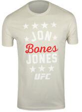 UFC Mens Jon Bones Jones Star T-Shirt - Light Gray