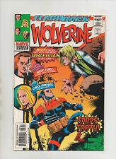 Wolverine Minus 1 - Sabretooth Cover! Nick Fury & Carol Danvers (Grade 8.5) 1997