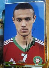 Signiertes Foto Noussair Mazraoui Marokko Ajax Amsterdam  NEU