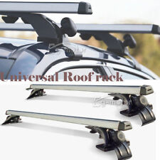 Universal Car Sedan Luggage Cross Bars Roof Rack Carrier Window Frame 3 Clamps