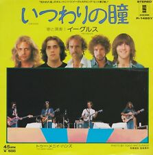 Eagles Lyin' Eyes / Too Many Hands Japan 45 With Picture Sleeve 500 Yen RARE