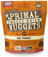 Primal Freeze Dried Grain Free Beef Dog Food 14oz