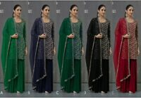 kameez salwar pakistani indian suit shalwar dress stitched casual designer wear