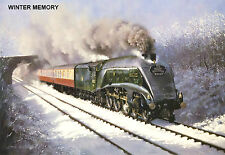 """Hornby Dublo in Railway Art """"Winter Memory"""" No. 24 Signed & Numbered."""