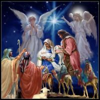 Chart Needlework - Counted Cross Stitch Patterns - Nativity Scene