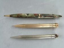 Lot of 3 Vintage Mechanical Pencils Scheaffer Wahl Eversharp Pencil