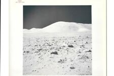 Original NASA Red Number Apollo 17 Lunar Surface Color Photo Station 9 North
