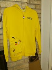 Pokemon Hey You Pikachu Full Zipper Hoodie Pokemon GO! XL