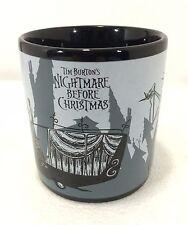 Nightmare Before Christmas Tim Burton Disney Mug Jack Skellington & Sally