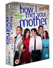 How I Met Your Mother Series 1-7 Complete Season 1 2 3 4 5 6 7 New Region 2 DVD