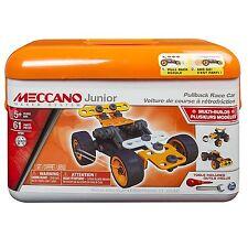 Meccano Junior Caja de Herramientas Set Tire hacia atrás Race Car Conjunto de construcción Meccano