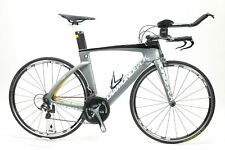 USED 2015 Diamondback Serios Triathlon TT Tri Bike 54cm Carbon Dura Ace Zipp HED
