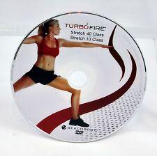 Turbo Fire Stretch 40 Class Stretch 10 Class DVD Workout Disc #11