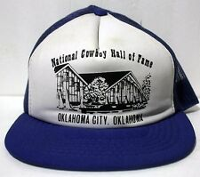 National Cowboy Hall of Fame Oklahoma City Blue  Snapback Hat Cap  Hipster