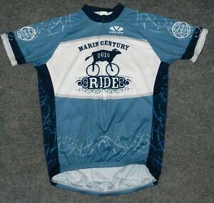 VOLER CLUB 3/4 ZIP S/S JERSEY + MARIN 2010 CENTURY RIDE Cycling sz XL Jersey