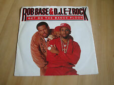 "ROB BASE & D.J.E-Z ROCK - GET ON THE DANCE FLOOR  (PROFILE 7"")"