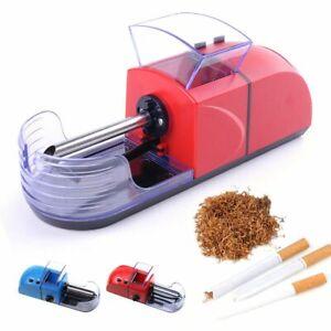 Automatic Cigarette Rolling Machine Metal Tobacco Injector DIY Maker Men Gadgets