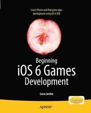 Beginning iOS 6 Games Development by Jordan, Lucas