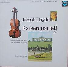 LP Haydn Kaiserquartett op.76 Nr.3  MINT-  Das Novak Quartett Prag ,saphir