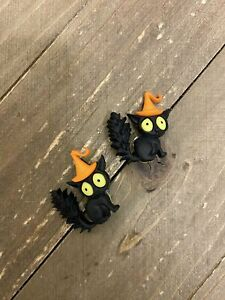 CREEPED Out Cats post earrings-Perfect for Fall Ear Bling (5 Cats to choose)