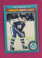 1979-80 TOPPS # 228 LEAFS IAN TURNBULL   NRMT-MT  CARD (INV# A2231)