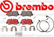 LR3, LR4,Range Rover Sport Brembo Rear Brake Pad Set with Sensor