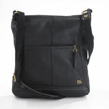 The Sak IRIS 104118 Black Leather Medium Size Crossbody Bag NWT