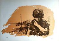 Andrea Carisi - Litografia originale del '79, numerata e firmata