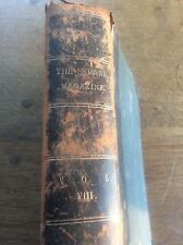 The Strand Magazine Vol Vlll 1894 part leather bound illustrated monthly book