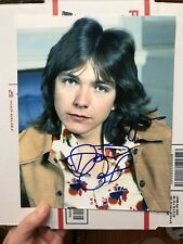 David Cassidy Signed Autographed young 8 x10 photo Authentic Rare