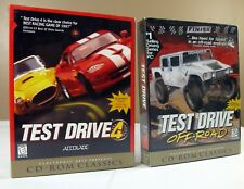 Vtg NEW SEALED Test Drive 4 and Off-Road CD-ROM Video Game Accolade 1997