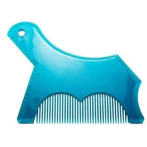 Beard Shaper With Inbuilt Comb For Shaping Styling Tool Guide Stencil Work