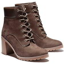 Timberland Allington 6 Inch Womens Ladies Brown Lace Up Ankle Boots Size 4-8