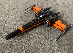 Lego Star Wars Poe's X-Wing Fighter (75102) - missing cockpit piece - manual