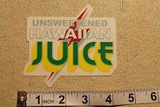 Lightning Bolt Team Pure Juice Surfboards Hawaii Original Vintage Decal STICKER